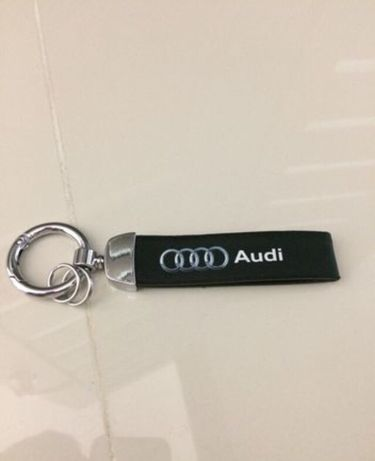Breloc Audi S-line Piele A4 A5 Q3 Q5 Q7 Seat Exeo Skoda VW passat Cc