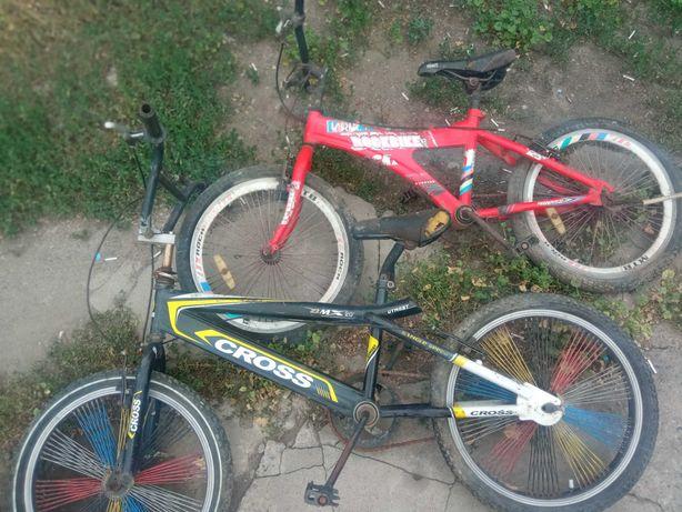 Продаются 2 велосипеда , Можете взять запчастями или полный.