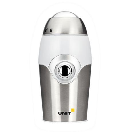 Кофемолка UNIT UCG-112, 150Вт, сталь.