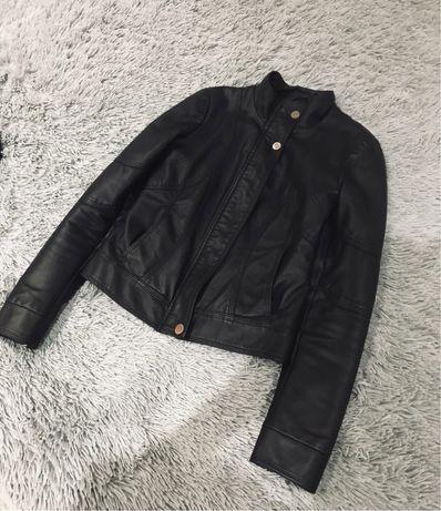 Кожаная куртка турция размер 40-42
