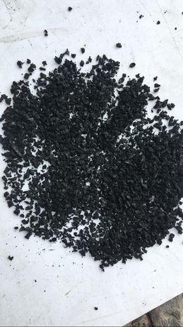РЕЗИНОВАЯ КРОШКА, от 100 тг ,Фракция 2-4мм 140 тг