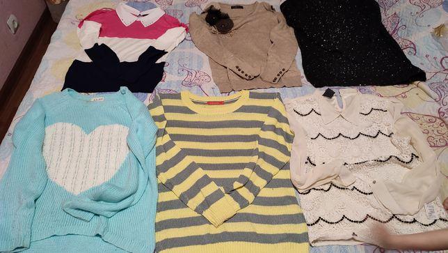 Женская одежда,кофты,блузка,платья.Идеальное состояние.