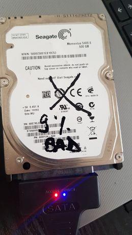 Hard disk HDD laptop Segate Momentus 500 GB 5400.6 9%