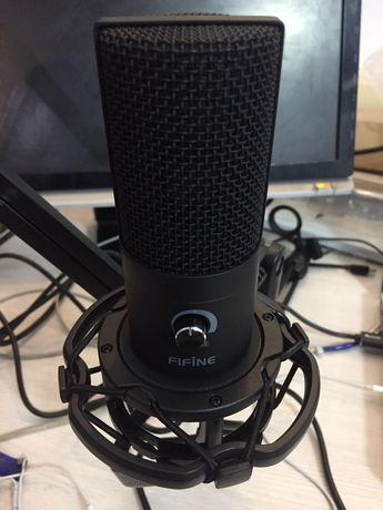 Микрофон для записи вокала, подкастов, для игр