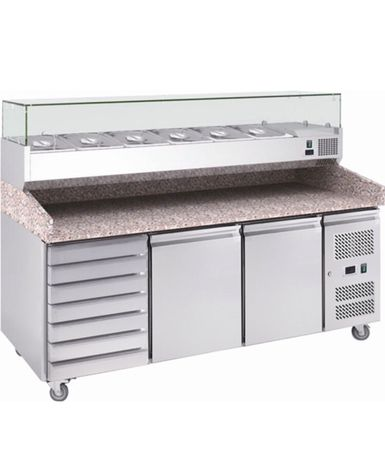 Маса пицарска работна Хладилна маса