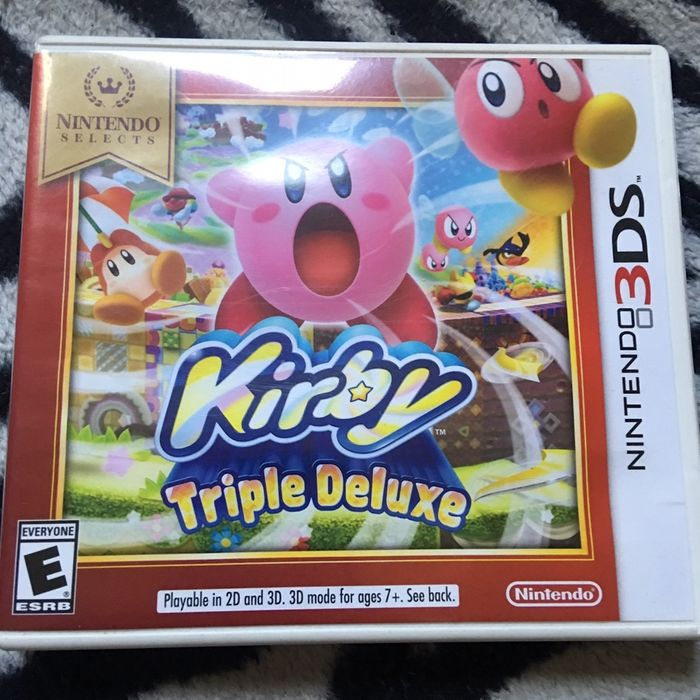 Kirby Triple Deluxe Nintendo 3DS Nou SIGILAT. Bucuresti - imagine 1