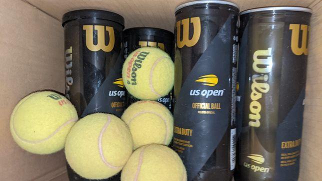 Теннисные мячи Wilson б.у.