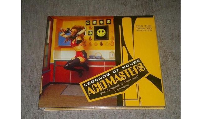 Продам cd Acid Masters Legends Of House, Sparkle, Shania Twain