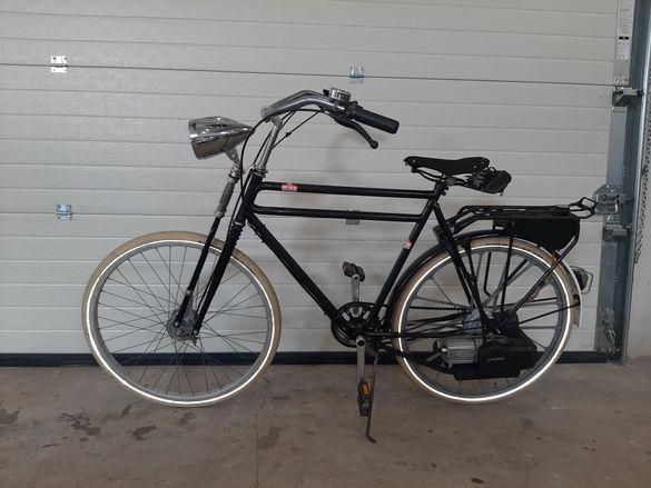 Холандски веломотор Vintage , с двигател Sachs