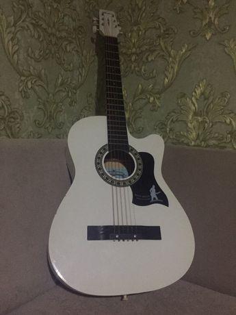 Акустический гитара с чехолом