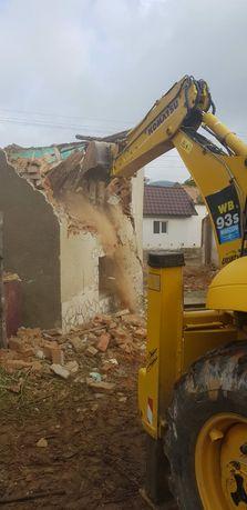 Demolări,  terasamente , excavări