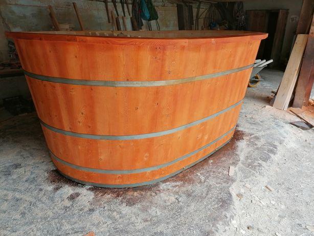 Ciubăr Oval din lemn