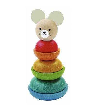 Turn de stivuit Iepuras - Plan Toys (ca nou)