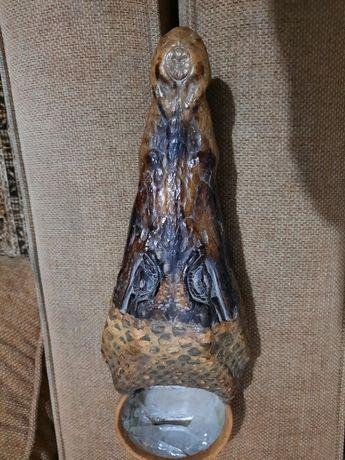 Пепельница в форме головы крокодила
