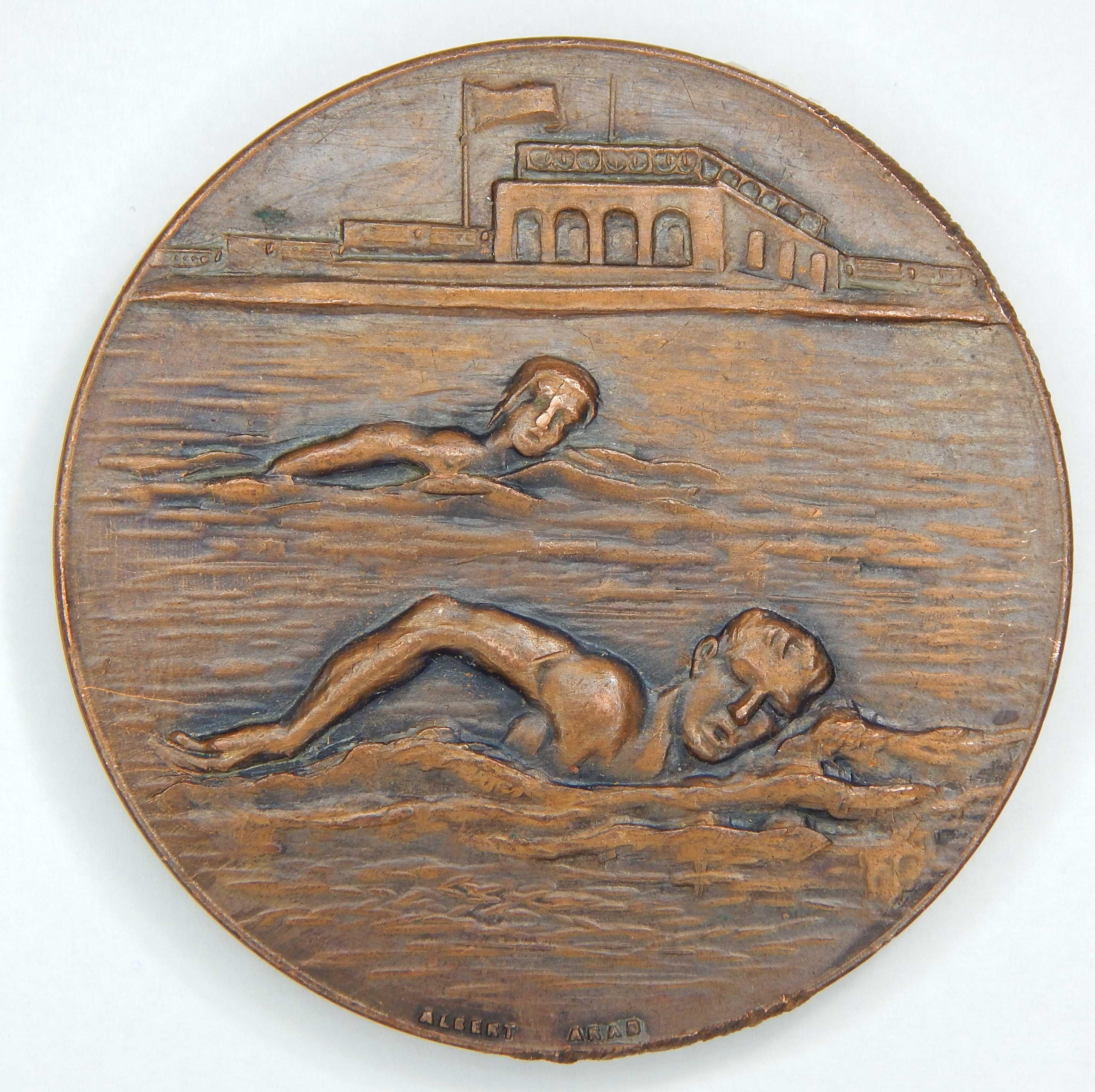 Medalie Sport Sportiva RPR Inot Campionatele Interasociatii 1951 Arad