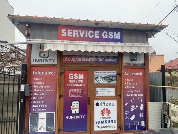 Service GSM/înlocuire sticla/ display/Folii protecție Shield-up