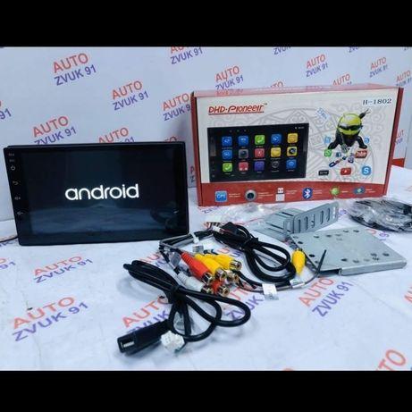 Акция! Магнитола 2дин на Андроиде 10.0. PIONEER. Магнитафон