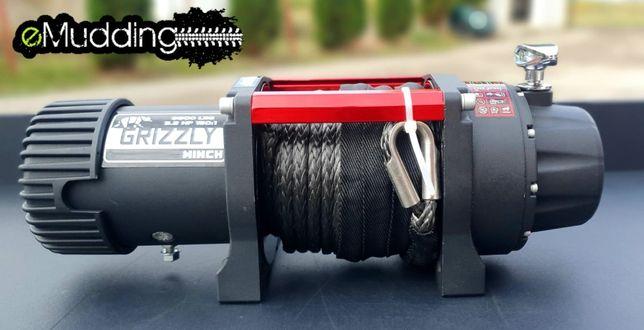 Troliu Grizzly Winch 8500lbs (3855kg) cu cablu sintetic
