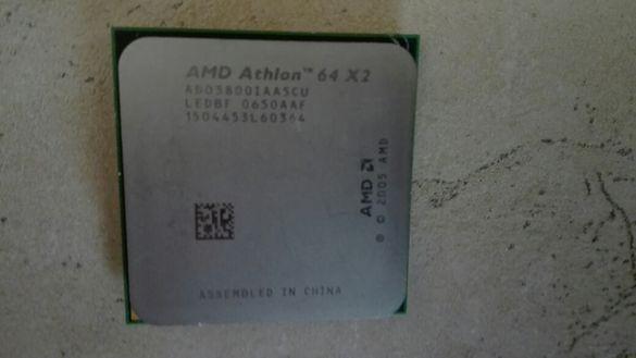 AMD Athlon двуядрен