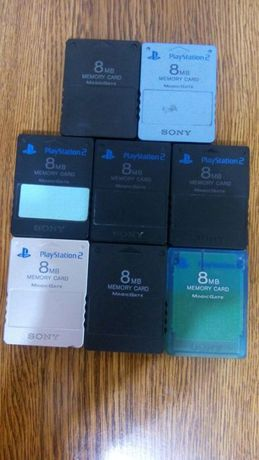 MODEZ memory card SONY 8 MB MODAT pentru PS 2 Playstation 2