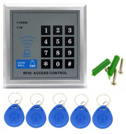 Sistem acces control RFID 125Khz casa gradina poarta curte garaj