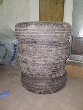 Шины Hankook 2 шт, Michelin 1шт и Dunlop 1 шт
