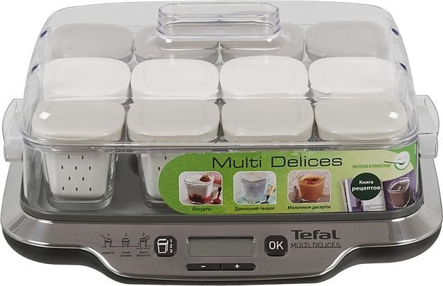 Йогуртница Tefal Multidelice 3-в-1