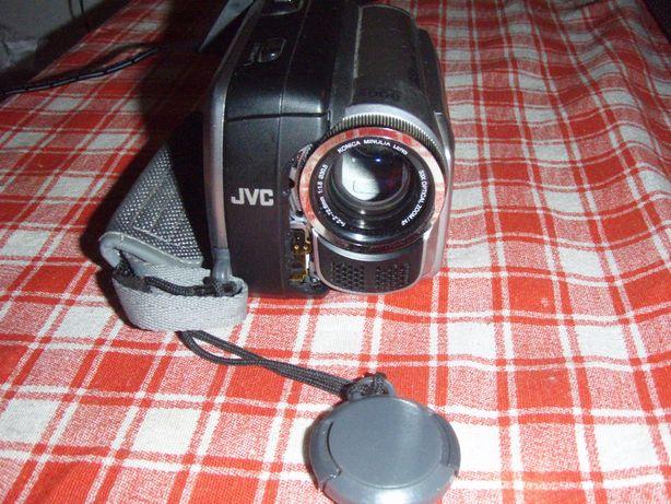 Camera video cu caseta miniDV JVC GR-D815E, cu probleme