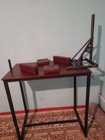 Армрестлинг қол күрес стол тренажор