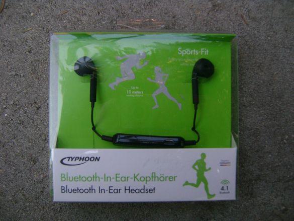 Bluetooth Безжични слушалки - Чисто нови.