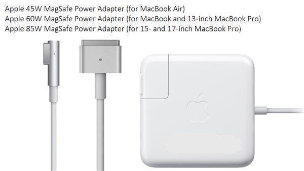 Ново зарядно Apple Macbook Pro Air 45w 60w 85w Magsafe 1 2 / Кабел