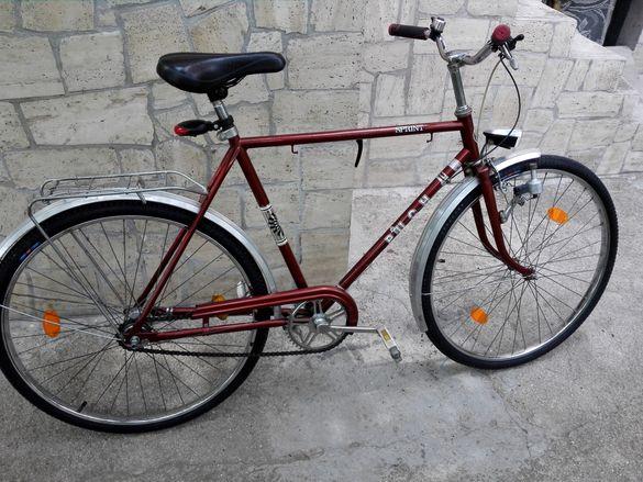 "Велосипед PUCH Sprint ретро, 26"", 3скорости Torpedo в задното движение"