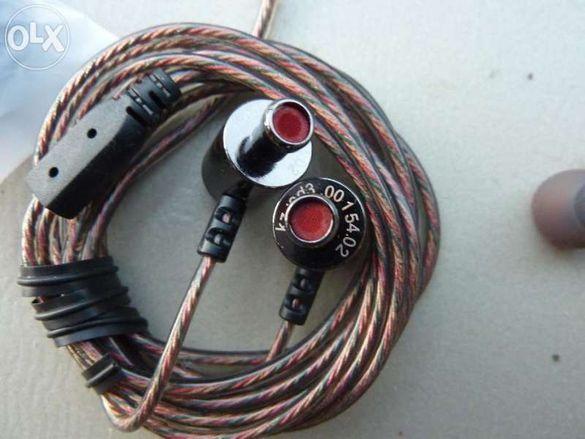 Продавам висококачествени професионални слушалки тип тапи ED3