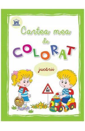 Cartea mea de colorat : Jucarii