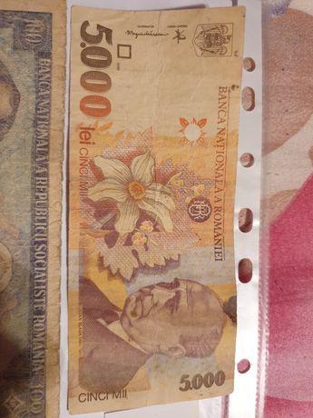 Bancnote vechi de colectie care au circulat