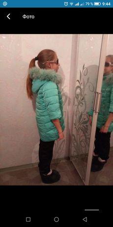 Продаю детскую теплую куртку
