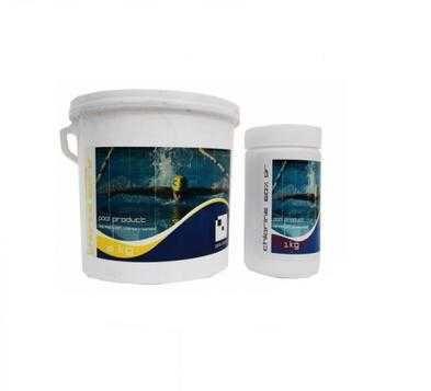 Бързо разтворим хлор на гранули 60% за басейн