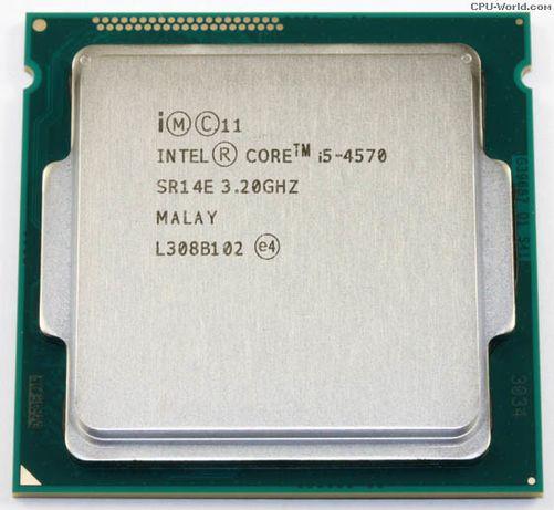 ПРОМОЦИЯ Процесор с гаранция i5 4570 Intel 1150 до 3.6 GHz