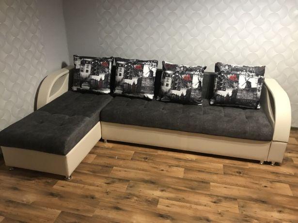 Новый угловой диван (2,6м)кредит, рассрочка