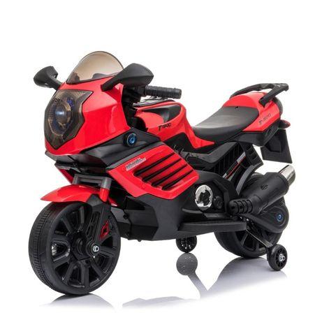 Motocicleta Electrica pentru copii LQ168 BIG rosie , 12 volti ,factura
