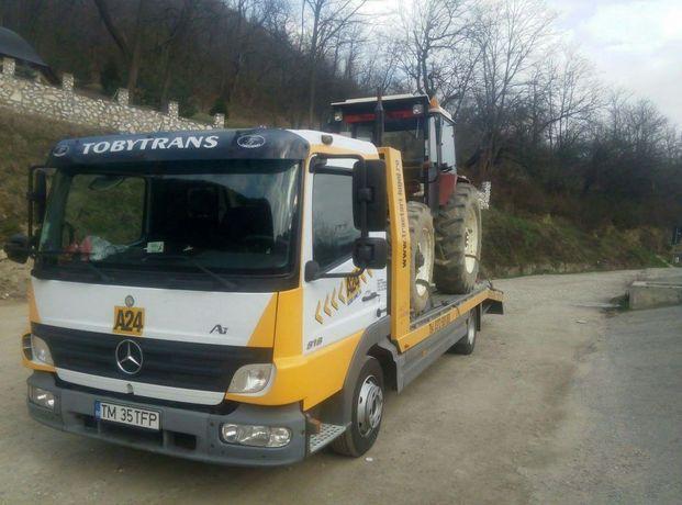 Transport utilaje Lugoj