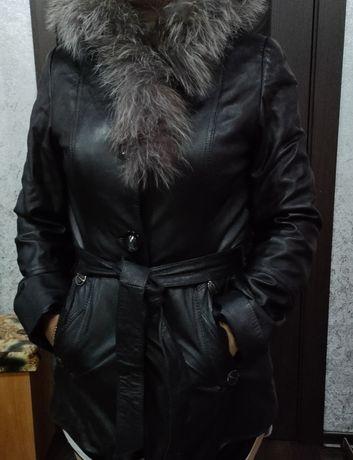 Натуральная кожа куртка
