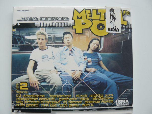 CD Compilatie MELTIN' POT Vol. 2, Nou,Original din Italia,Raritate RO