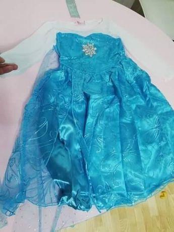 Rochie Rochita, NOUA, printesa Elsa Frozen 2, 3, 4 și 5 ani