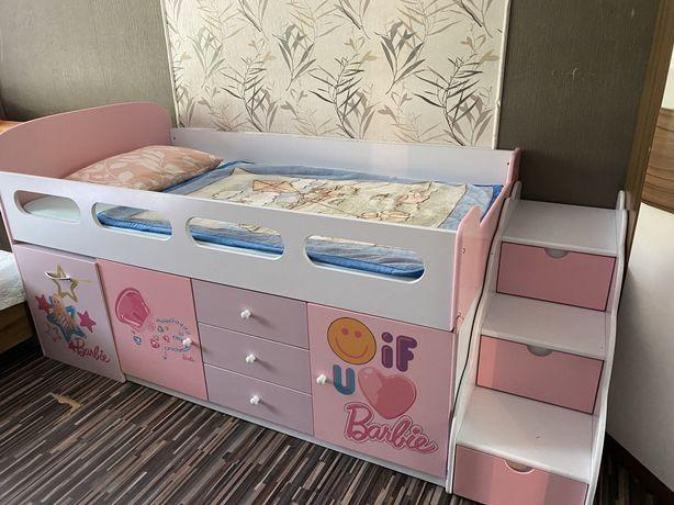 Продам кровать для девочки  в отличном состоянии!