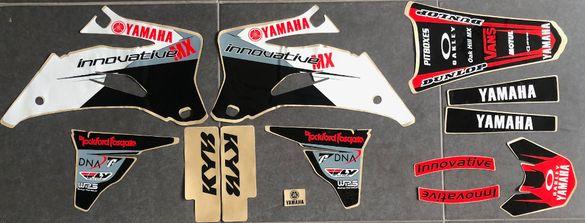 Нови Лепенки на FLU-Design USA за 2006-2009 Yamaha YZ250F YZ450F Ямаха