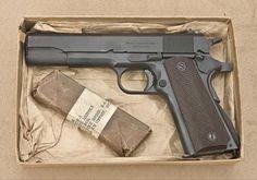 Pistol Airsoft Colt M1911 Putere Maxima 4,6 Jouli # Full Metal#