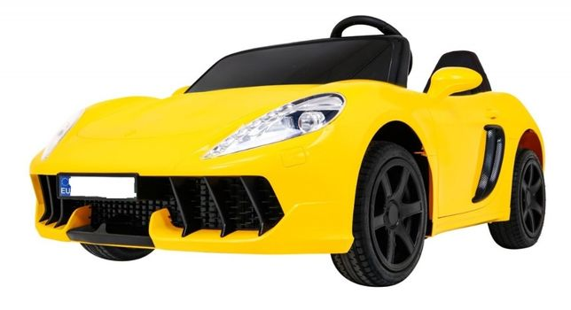 Masinuta electrica pt copii MARE PERFECTA viteza pana la 15km/h galben
