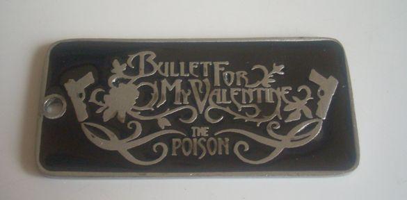 Bullet for my valentine - Metal медальон Метъл (2)