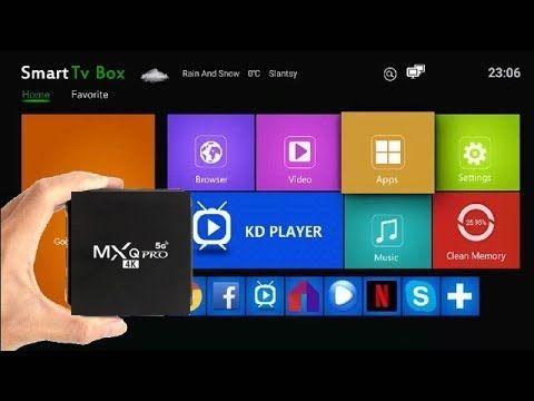 *НАМАЛЕНА ЦЕНА* ТВ БОКС MXQ PRO 4GB Ram Android 9.0 / Tv Box Андроид